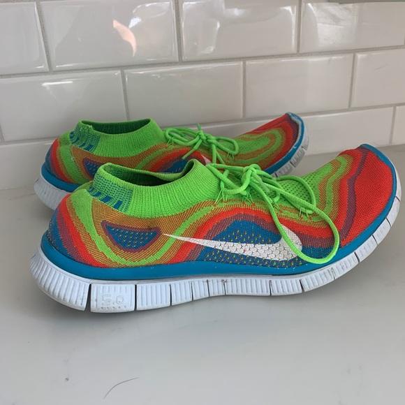 new arrival the best attitude cozy fresh Nike Shoes   Mens Flying Free 50 Rainbow Running   Poshmark